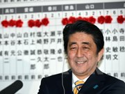 Party chief congratulates Japanese PM over lower house election