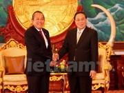 Lao President hails court collaboration with Vietnam