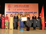 VNA domestic news section granted medal