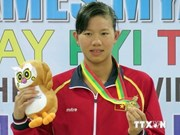 Female swimmer wins best athlete title for second year