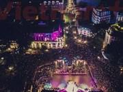 Vietnam welcomes 2015 in festive mood