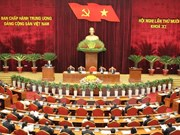 Party meeting discusses draft political report