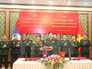 Vietnamese, Lao defence ministries enhance ties