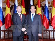 Leaders exchange greetings on Vietnam-Russian ties anniversary