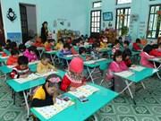 Can Tho fulfils universal preschool education targets