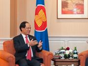 Russia back ASEAN's central role in region