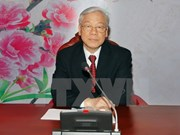 Vietnamese, Chinese party leaders conduct phone talks