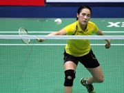 Badminton player Trang climbs up in world rankings