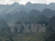 Thousands of visitors to Dong Van Karst Plateau Geo-Park during Tet