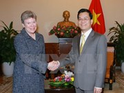 US Under Secretary of State welcomed in Hanoi
