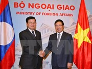 Vietnam pledges support to Laos as 2016 ASEAN Chair