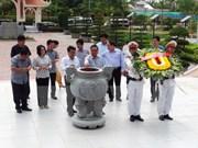 Politburo member pays working visit to Ca Mau
