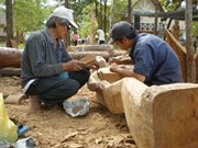 Wood carving contest opens in Dak Lak