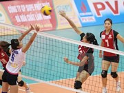 Five foreign teams compete in VTV women's volleyball tourney
