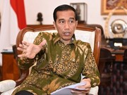 Indonesian President meets military, police on budget increase