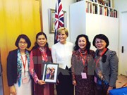 Australia pledges to support Vietnamese women