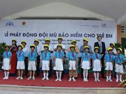 Quang Nam takes part in Helmets for Kids programme