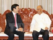 State President meets with former Lao leaders