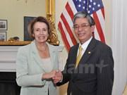 US Congresswoman meets Ambassador ahead of Vietnam visit