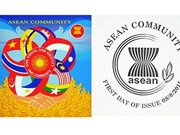 Vietnam stamp design used among ASEAN nations