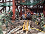 Rescue for workers in scaffold collapse nears its conclusion