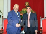 Palestine National Council Vice President welcomed in Hanoi