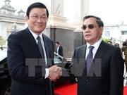 Lao press spotlight Vietnamese President's visit