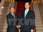 Prime Minister meets with Cambodian National Assembly President