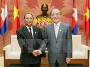 Vietnam, Cambodia top legislators meet in Hanoi