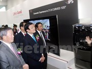 President attends inaugural of LG's technology complex in Hai Phong
