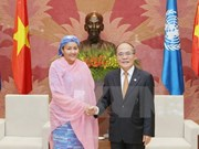 NA leader welcomes UN Assistant Secretary-General