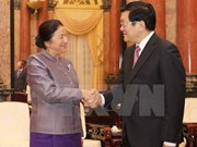 President meets IPU-132 legislators