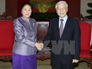 Laos pledges to enhance partnership with Vietnam