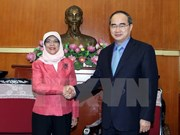 NA, VFF leaders hail Singapore Parliament Speaker's visit