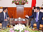 Deputy PM greets Indian National Security Adviser