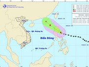 Maysak Storm heading to East Sea