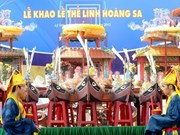 Hoang Sa tribute rituals held in Quang Ngai