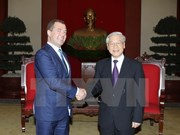 Party chief meets ruling United Russia Party leader