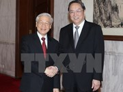 Party leader meets Chinese top political advisor