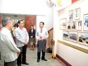 Lao New Year rite held for Vietnamese Politburo member