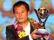 Pham Thanh Luong wins Golden Ball prize
