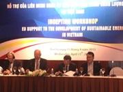 EU to support Vietnam's sustainable energy development