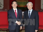 Party chief hosts Chinese Minister of Public Security