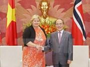 Top legislator hopes to enhance Vietnam-Norway ties