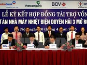4.5 trillion VND contracts signed for Duyen Hai 3 power project
