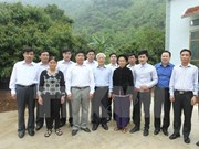 Party chief highlights Cao Bang economic potential