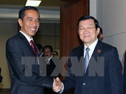 State President talks bilateral ties with Asian-African leaders