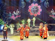 Southern folk song festival launched in Dong Thap