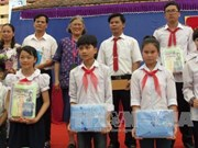 Thai princess visits school in Ninh Binh