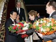 President arrives in Moscow for Great Patriotic War Victory celebration